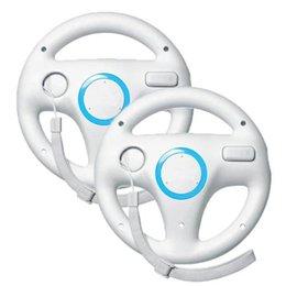 Wholesale Nintendo Kart - Wii Racing Wheel, Wii U Racing Wheel Mario Kart Racing Wheel for Nintendo Wii, 2 Sets White Color Bundle