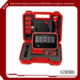 Wholesale Hyundai Tablets - 100% origianl XTOOL X-100 PAD X100 PAD Tablet auto Key Programmer with EEPROM Adapter Support Special Functions DHL free shipping