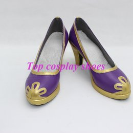 Wholesale Chinese Shoes Brands - Wholesale-LOVELIVE! No brand girls Nozomi Tojo Nico Yazawa Cosplay Boots shoes Chinese style #TS030 hand made Custom made