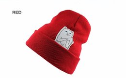 Wholesale Christmas Style Hat For Women - Hot Beanie New Style Cat Hip Hop Acrylic Knit Hedging Snowboard Winter Hats For Women Men Winter Cap Unisex Outdoor Skiing