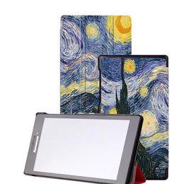 "Вкладки lenovo онлайн-KST чехол для lenovo Tab 2 A8 8.0 кожаный защитный чехол funda для Lenovo Tab 2 A8-50 A8-50F A8 50 8"" чехол для планшета +пленка+стилус"