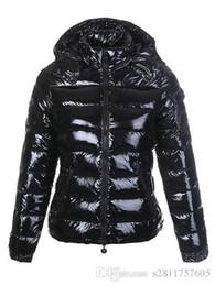 Wholesale Ladies Hooded Down Coats - M12 women luxury mon brand jacket parkas for winter jacket Women Ladies anorak women coats hood parka jackets