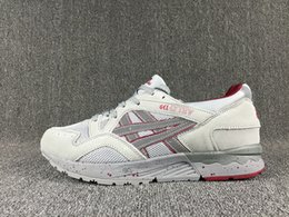Wholesale Hunting Lighters - Asics Gel-Ltye V New Color Running Shoes Mens And Womens Soft and comfortable Lighter Athletic Sneakers Outdoor Shose Come With Box