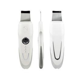 Wholesale Multifunctional Beauty Equipment - Multifunctional Portable Ultrasonic Skin Scrubber Cleaner Massager Ultrasonic High Frequency Ulrtasonic Beauty Equipment