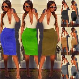 Wholesale Summer Dress Set Mixed - 2015 New Summer Set Neck Mixed colors Sexy Women's dresses Elastic bandage Sexy nightclub Backless Dresses