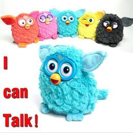 Wholesale plush elves - Electric Pets Owl Elves Recording Talking Plush Toys Plush Stuffed Kids Interactive Toys 6 Colors OOA3146