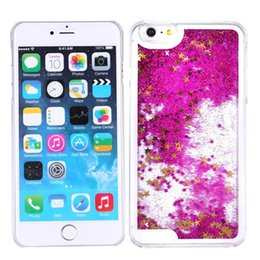 Wholesale S4 Liquid - For Samsung Galaxy S7 Edge S7 Active S6 Edge Plus S5 S4 S3 Bling TPU Liquid Glitter Water Case Sparkly Floating Star Cases