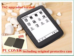 Wholesale E Book Reader Wifi - Wholesale-ebook Reader BOYUE T62+ dual core cpu 8gb e ink touch screen built in backlight front light Android WIFI electronic book e-book