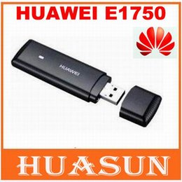 Wholesale Huawei Usb Modems - Free shipping Unlocked HuaWei E1750 E1750c 3G wireless modem support google android system