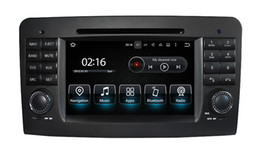 Wholesale Dvd Canbus - 2 Din 7 Inch Android 7.1 Car DVD Player For Mercedes Benz GL ML CLASS W164 ML350 ML500 X164 GL320 Canbus Wifi GPS BT Radio
