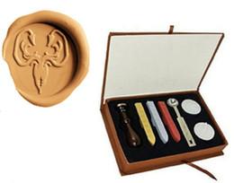 Wholesale Stamps Seal Diy - Kraken Game Of Thrones House Greyjoy Wax Seal Stamp Stick Box Set for Diy Decoration