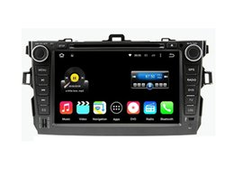 Wholesale Toyota Corolla Touch Screen Radio - 8'' Quad Core Android 5.1.1 Car DVD Stereo For Toyota Corolla 2006 2007 2008 2009 2010 2011 With Radio GPS Multimedia