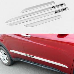 Wholesale Chrome Body Side - For Honda 2015 car accessories ABS chrome side door body trim for Honda VEZEL 2014-2016 chrome molding body strips