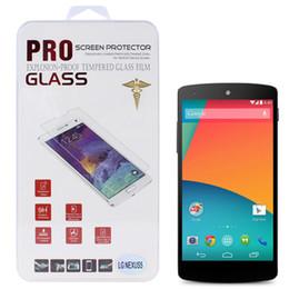 Wholesale Google Nexus Screen - 0.26mm Ultra Thin 9H+ Hardness Premium Tempered Glass Screen Protector for Google Nexus 5 CPA_806