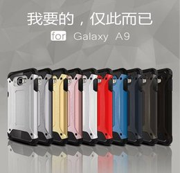 Wholesale Silicone Man Iron - Durable Ironman Armor Hybrid Hard PC+Soft TPU Case For Galaxy A9 A9 2016 J1 MINI 2016 S5 I9600 Note4 Note4 Iron man Impact Heavy Duty Skin