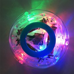 Wholesale Toys Ana - New Arrival Environmental-friendly material ANA Funny Home Bath Accessories Baby Toys Waterproof LED Lights Bath Toy Best Christmas gift