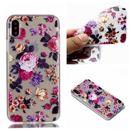 Wholesale Flowers Pandas - Unicorn Horse Panda TPU Soft Case For Iphone X 6 6S 7 8 Plus 5 5S SE Sony Xperia L1 XZ1 Compact LG K4 2017 K8 K10 EU LG Q8 Flower Skin Cover