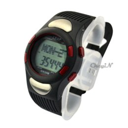 Wholesale Calories Heart Rate - car New Arrival Waterproof Heart Rate Monitor Calories Counter Fitness Pedometer Sport Watch Chronograph for Men Women XL001HR-S34
