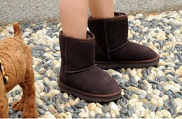 Wholesale Hot Australian - 2017 new hot sale Winter waterproof children's warm winter boots girls boys kids Australian snow boots