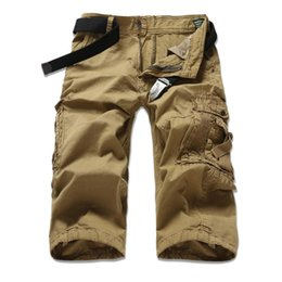 Wholesale Beach Cargo Pants - Wholesale-2016 High Quality New Outdoors Men short pants Travel Beach Shorts bermuda Mens Cargo Shorts Casual Sport Washing Short Trousers
