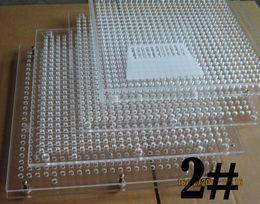 Wholesale Tamping Manual Machine - 2# 600 Holes Plexiglass Encapsulating Machine, Manual C apsule Filler without tamping tool