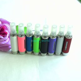 Wholesale Bottom Coil Tank Cartomizer - MT3 Clearomizer 2.4ml eVod BCC MT3 Atomizer Electronic Cigarette rebuildable Atomizers bottom coil tank Cartomizer for EGO EVOD battery