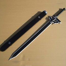 Wholesale Sword Art Wig - Sword Art Online SAO Kirito Black Sword Cosplay Prop Ver. B