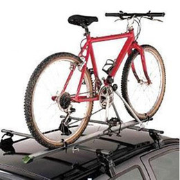 Wholesale Roof Car Carriers - Aluminum Upright Car Roof Top Foldable Bike Bicycle Cycling Rack Carrier SUV VAN