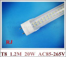 UK led g13 tube 18w smd - LED tube light lamp T8 SMD 3528 LED fluorescent tube T8 G13 AC85-265V 18W SMD3528 288led 6-7lm led >1800lm 1.2M 1200mm 4FT high brightness