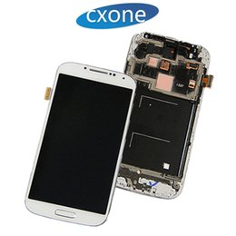 Wholesale galaxy s4 screens - Best AAAA Quality For Samsung Galaxy S4 LCD i9500 I337 M919 I545 I9502 I9505 E300K Display Touch Screen With Frame Parts Free DHL