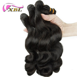 Wholesale Top Hair Factory - Guangzhou Top Quality Factory Price 4 Pieces Free Shipping Loose Wave Human Hair Weaving Loose Wave Human Hair