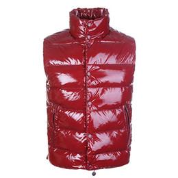 Wholesale Waistcoat For Men Sale - 2016 Brand Winter Down Vest Men's Warm Vests Clothing For Men Padded Sleeveless Jacket Mon Waistcoat High Quality Sale