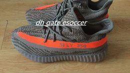 Wholesale Gyms Pictures - 100% Real Pictures Kanye west Boosts SPLY 350 Men Basketabll Shoes Athletic Outdoor Shoes Size 36-45 Free Shipping
