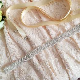 Wholesale Diamond Wedding Sash - 2017 S216 Europe and the explosion of handmade beaded luxury imported diamond wedding bride waist belt wedding sashes