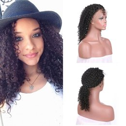 Wholesale Premium Lace Front - Kinky Curly 150% Density Glueless Malaysian Hair Wigs Pre Plucked Full Lace Human Hair Wigs Premium Quality FDSHINE HAIR