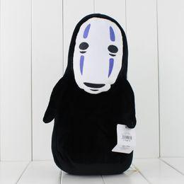 Wholesale Face Ems - 32cm Anime Cartoon Miyazaki Hayao Spirited Away No Face Plush Soft Stuffed Doll Toy for kids gift toy free shipping EMS