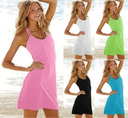 Wholesale Women Blouses Bohemian - 100pcs lot newest brand sexy swimwear lovely beach dress New Women Beach Dress Summer Dress Outside The Bikini Blouse