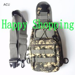 Wholesale Cp Camouflage - Men Outdoor Tactical ACU CP Camouflage Bag Hiking Travel Sport Shoulder Backpack Riding Bag
