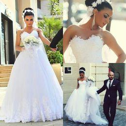 70c84a1e428b vestiti dalla chiesa a basso costo Sconti Chiesa 2018 New Fashion Tulle  Lace Abiti da sposa