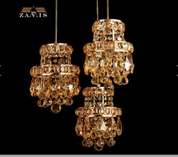 Wholesale Best Modern Classical - Crystal Pendant Lights Crystal ceiling LED lamp, 1L and 3L LED crystal ceiling Lamp, Best Quality 100% Guaranteed Crystal Lamp