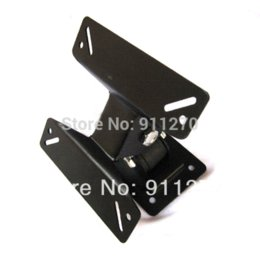 Wholesale Tv Wall Mount Rotating - 180 Degree Rotated SPHC TV Wall Mount Bracket Support For 14 - 24 Inch LCD Flat Panel Plasma TV Free Shipping