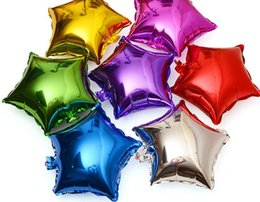 Wholesale Cheap Star Decorations - Party Decoration Stars Balloon Cheap Sweet Party Balloons for Christmas Party Supplies For Wedding Event Decorations