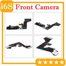 Telecamera anteriore online-Nuovo originale per iPhone 6S plus 4,7 5,5 pollici Front Face Camera Cam Proximity Light Sensor + Microfono Flex Cable Ribbon 10PCS