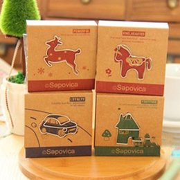 Wholesale Animal Clip Bookmarks - 48 pcs in 4 box Paper Clip Metal Bookmarks Cute Animal Paper Holder Folder Books Office School Supplies