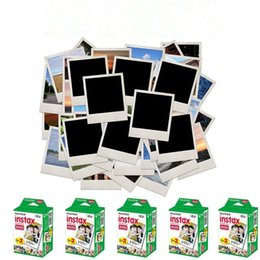 Wholesale Family Sheet - 20pcs box Instax mini film camera photographic papers Photo camera Film White Sheet Camera Christmas family time