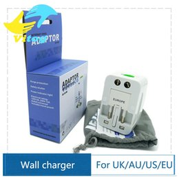 Wholesale Power International - Travel universal wall charger power adapter for plug Surge Protector Universal International Travel Power Adapter Plug (US UK EU AU AC Plug)