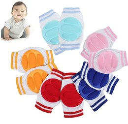 Wholesale Elbow Knee Pads Baby - New Arrival Kids Safety Crawling Elbow Cushion Infants Baby Protector Knee Pads