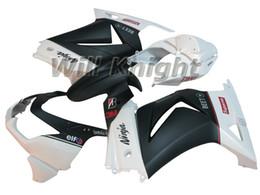 Wholesale Orange Kawasaki Fairing Kits - Motorcycle Frame Injection Mold Complete Body Fairing Kit for Ninja 250R EX250R 2008 2009 2010 2011 2012 Black White