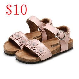 Wholesale sandal shoes kids - Wholesale Kids shoes New Fashion girls summer shoes boys sandals on sale beautiful design comfortable dress all new style