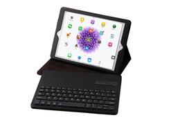 apple ipad bluetooth keyboard stand Promotion Couverture sans fil de cas de clavier de Bluetooth Couverture d'étui de support de PC de tablette pour IPAD PRO 9.7Inch, Ipad Air Ipad Air 2